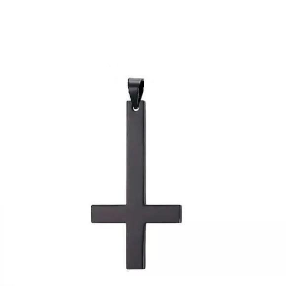 Подвеска на шею в виде перевернутого креста