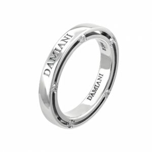 Красивое обручальное кольцо Damiani