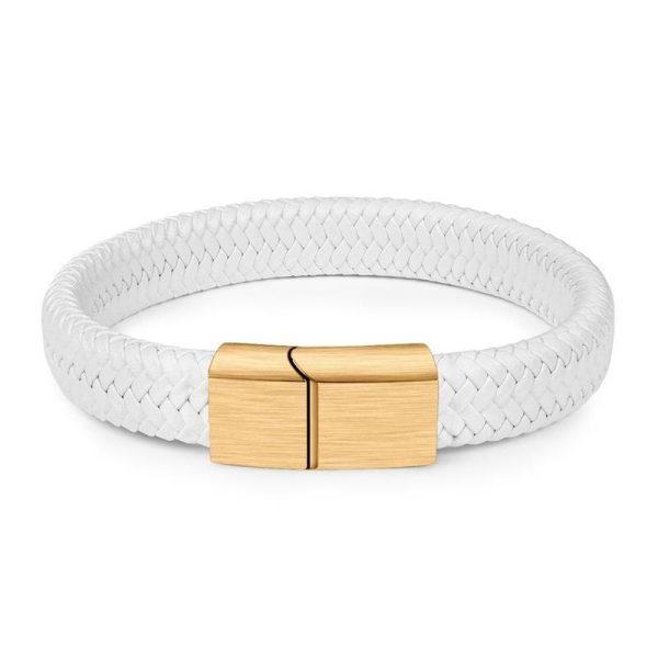 Белый браслет на руку