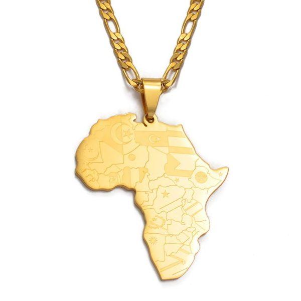 Подвеска в виде континента Африка