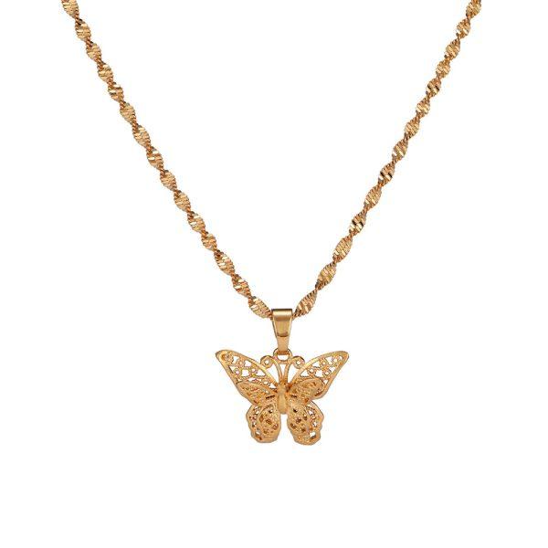 Женская подвеска бабочка