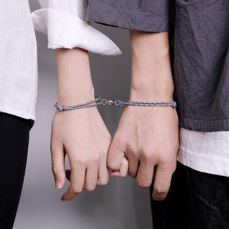 Браслет на руку для двоих любящих