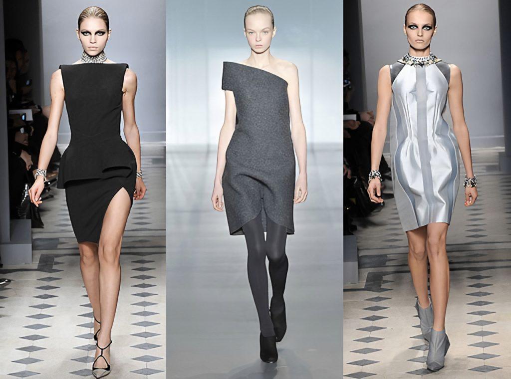 Конструктивный стиль в одежде