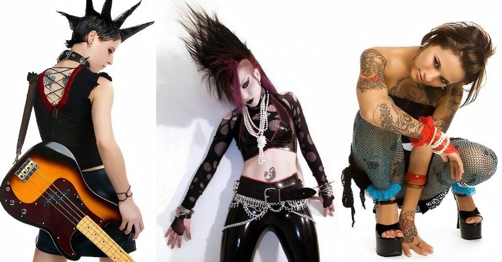 Панк стиль в одежде
