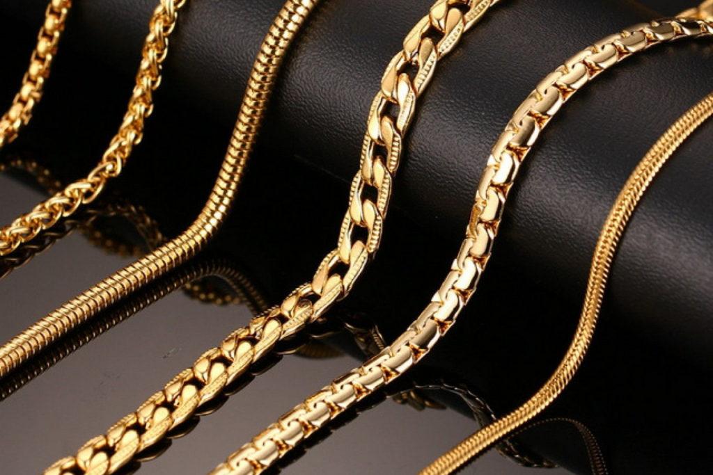 Виды плетений цепочек на шею