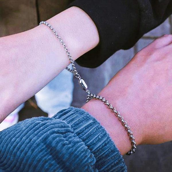 Парные браслеты цепи