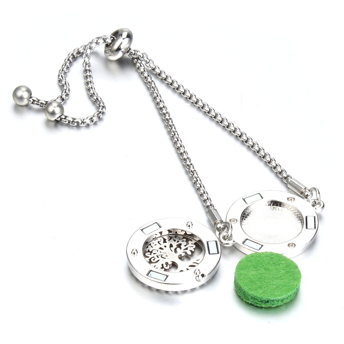 Раскрытый ароматический браслет