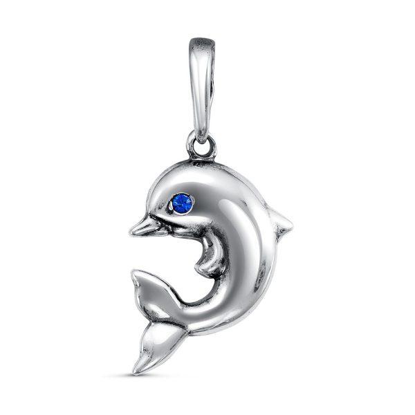 Кулон дельфинчик