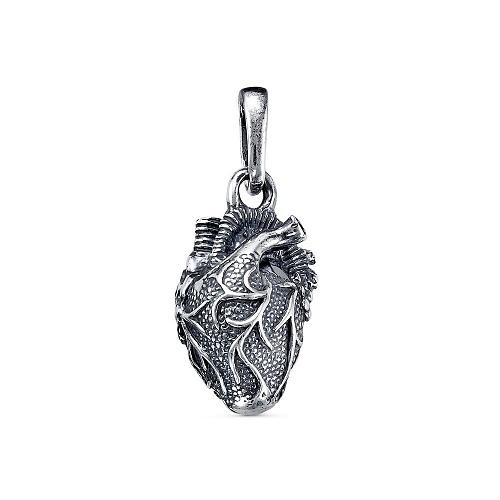 Подвеска натуральное сердце