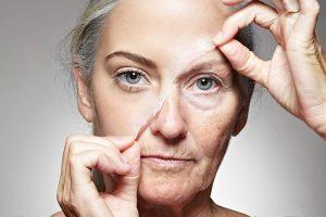 Старение женского лица