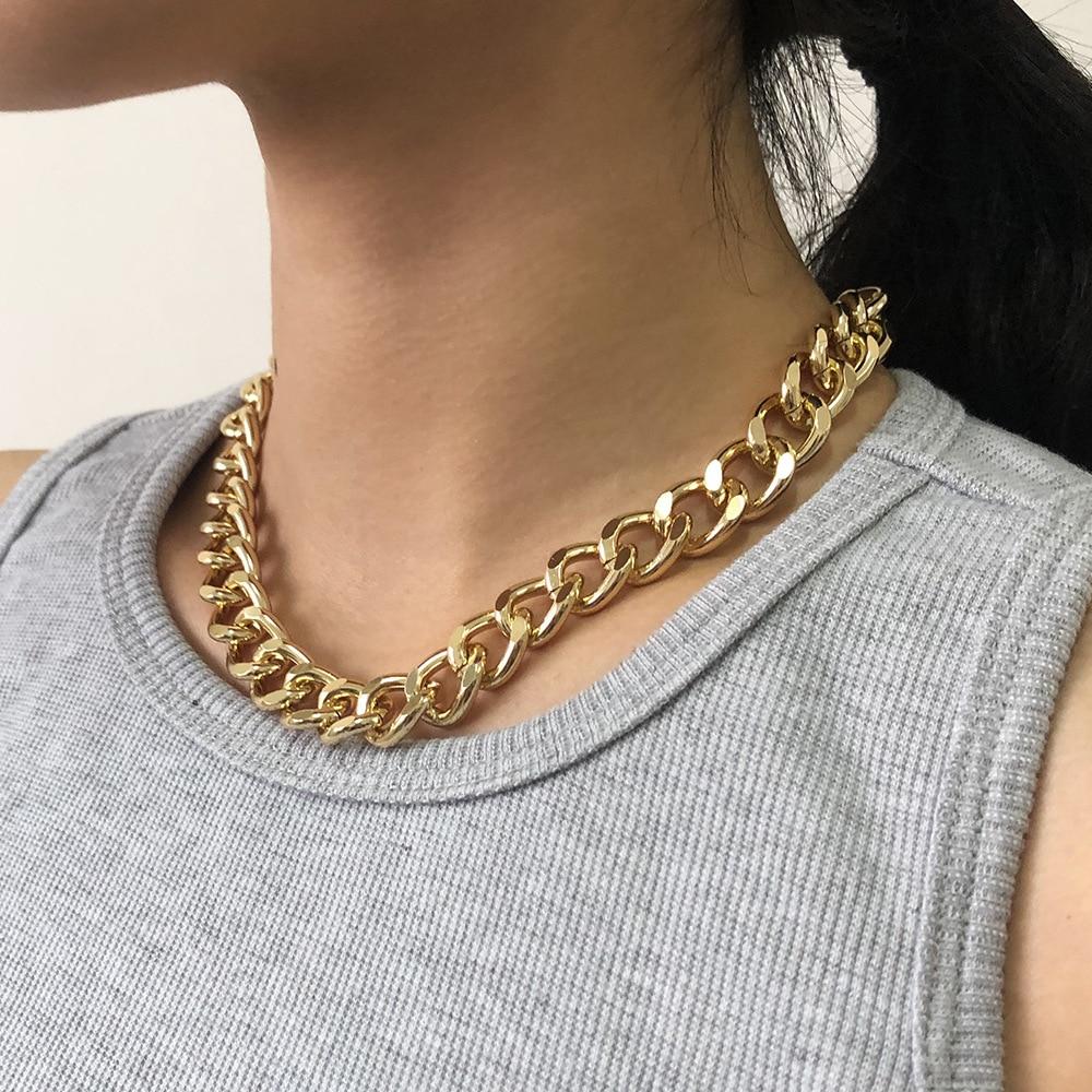 Золотая цепь на шею