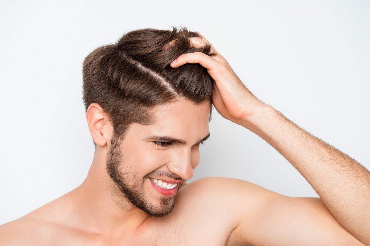Мужские волосы без перхоти