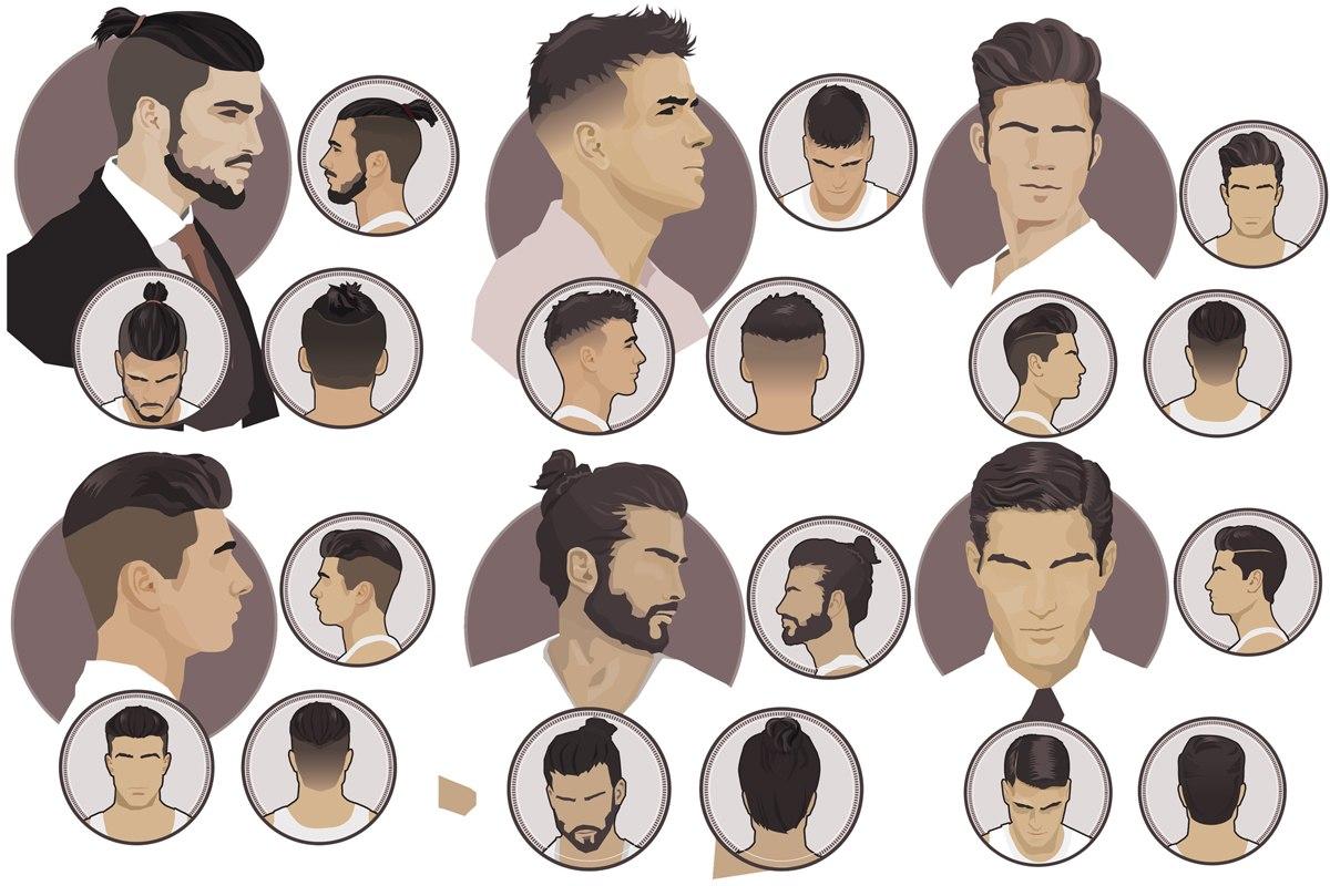 Виды модных мужских причесок